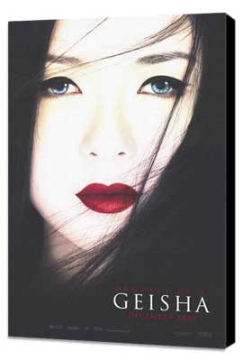 Memoirs of a Geisha - 11 x 17 Movie Poster - Style A - Museum Wrapped Canvas