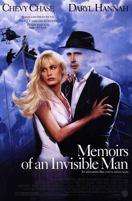 Memoirs of an Invisible Man - 11 x 17 Movie Poster - Style A