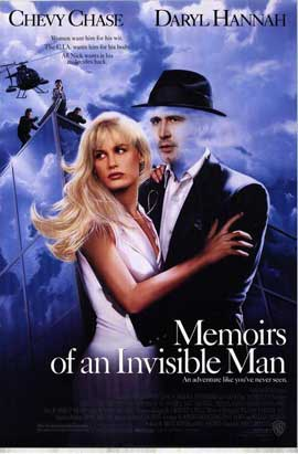 Memoirs of an Invisible Man - 27 x 40 Movie Poster - Style A