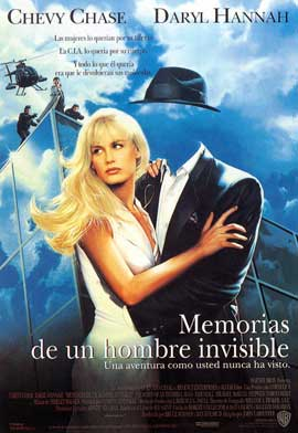 Memoirs of an Invisible Man - 11 x 17 Movie Poster - Spanish Style A