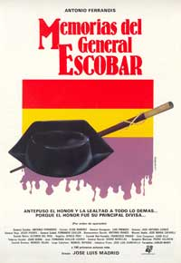 Memorias del general Escobar - 27 x 40 Movie Poster - Spanish Style A