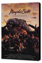 Memphis Belle - 11 x 17 Movie Poster - Style A - Museum Wrapped Canvas