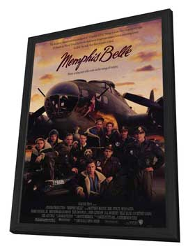 Memphis Belle - 11 x 17 Movie Poster - Style A - in Deluxe Wood Frame