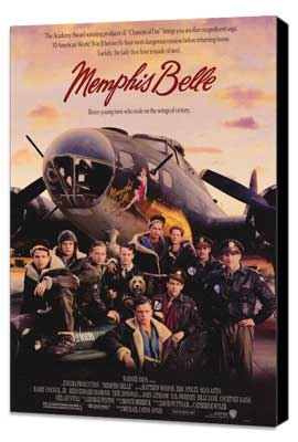 Memphis Belle - 27 x 40 Movie Poster - Style A - Museum Wrapped Canvas