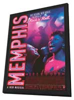 Memphis (Broadway) - 14 x 22 Poster - Heavy Stock - in Deluxe Wood Frame