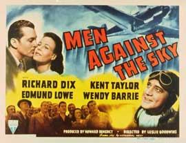 Men Against the Sky - 11 x 14 Movie Poster - Style A
