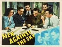 Men Against the Sky - 11 x 14 Movie Poster - Style B