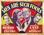 Men Are Such Fools - 22 x 28 Movie Poster - Half Sheet Style B