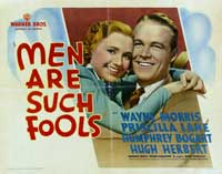 Men Are Such Fools - 22 x 28 Movie Poster - Half Sheet Style A