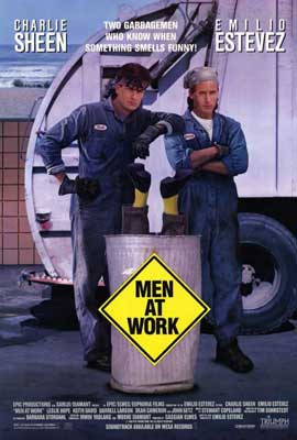Men at Work - 27 x 40 Movie Poster - Style A