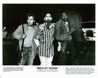 Men at Work - 8 x 10 B&W Photo #3