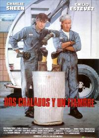 Men at Work - 11 x 17 Movie Poster - Spanish Style A