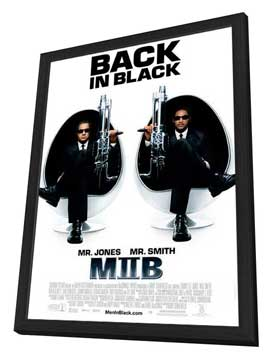 Men in Black 2 - 27 x 40 Movie Poster - Style C - in Deluxe Wood Frame