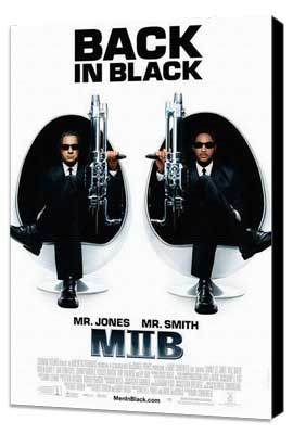 Men in Black 2 - 11 x 17 Movie Poster - Style F - Museum Wrapped Canvas