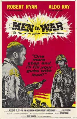 Men in War - 11 x 17 Movie Poster - Style A