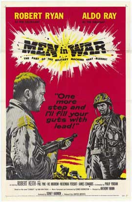 Men in War - 27 x 40 Movie Poster - Style A