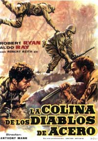 Men in War - 11 x 17 Movie Poster - Spanish Style A
