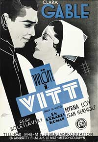 Men in White - 11 x 17 Movie Poster - Swedish Style A