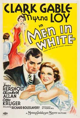 Men in White - 11 x 17 Movie Poster - Style B