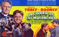 Men of Boys Town - 11 x 17 Movie Poster - Spanish Style A
