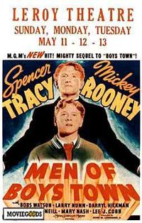 Men of Boys Town - 27 x 40 Movie Poster - Style A