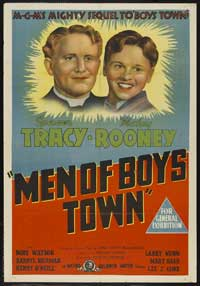 Men of Boys Town - 11 x 17 Movie Poster - Australian Style A
