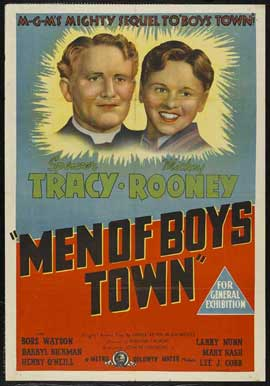Men of Boys Town - 27 x 40 Movie Poster - Australian Style A