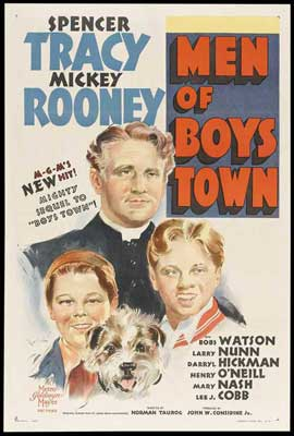 Men of Boys Town - 11 x 17 Movie Poster - Style B