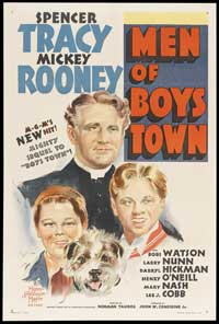 Men of Boys Town - 27 x 40 Movie Poster - Style B
