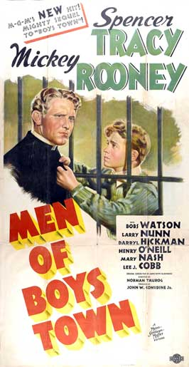Men of Boys Town - 27 x 40 Movie Poster - Style C
