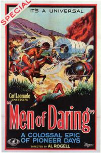 Men of Daring - 43 x 62 Movie Poster - Bus Shelter Style A