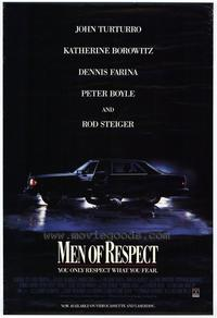 Men of Respect - 11 x 17 Movie Poster - Style A