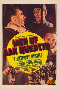Men of San Quentin - 43 x 62 Movie Poster - Bus Shelter Style A