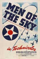 Men of the Sky - 27 x 40 Movie Poster - Style A