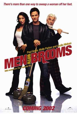 Men with Brooms - 27 x 40 Movie Poster - Style A