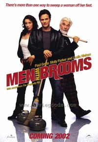 Men with Brooms - 43 x 62 Movie Poster - Bus Shelter Style A