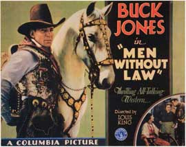 Men Without Law - 11 x 14 Movie Poster - Style A