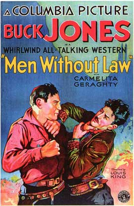 Men Without Law - 27 x 40 Movie Poster - Style B