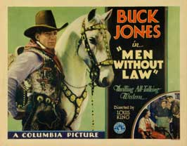 Men Without Law - 22 x 28 Movie Poster - Half Sheet Style A