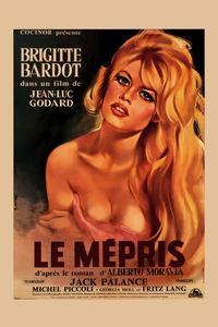 Le Mepris - 43 x 62 Movie Poster - Bus Shelter Style B