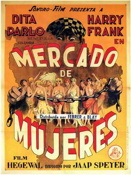 Mercado de Mujeres - 11 x 17 Movie Poster - Spanish Style A