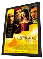 Merchant of Venice - 27 x 40 Movie Poster - Style A - in Deluxe Wood Frame