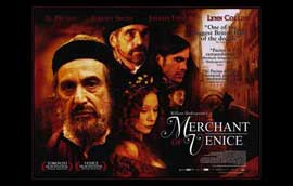 Merchant of Venice - 11 x 17 Movie Poster - UK Style A