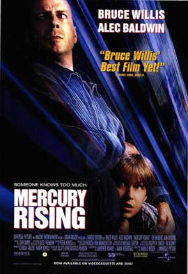 Mercury Rising - 27 x 40 Movie Poster - Style A