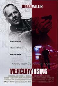 Mercury Rising - 27 x 40 Movie Poster - Style B