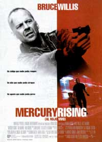 Mercury Rising - 11 x 17 Movie Poster - Spanish Style A
