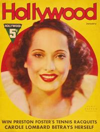 Merle Oberon - 11 x 17 Hollywood Magazine Cover 1930's Style A