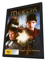 Merlin (TV) - 11 x 17 TV Poster - Argentinian Style A - in Deluxe Wood Frame