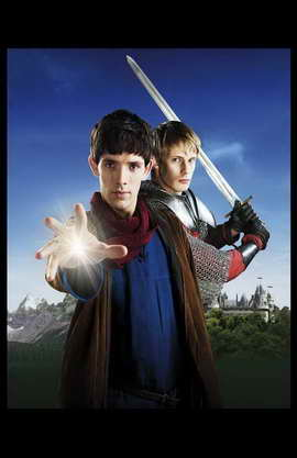 Merlin (TV) - 11 x 17 TV Poster - Style A
