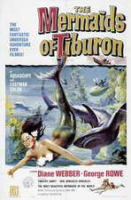 Mermaids of Tiburon - 11 x 17 Movie Poster - Style A